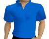 CJ69 Blue Mock Collar{M}