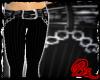 [bz] Pinstripe Capris Bk