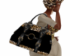 Black Leopard Badu Bag