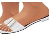 ELEGANT WHITE SLIPPERS