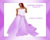 lilac gown