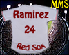 Red Sox Jersey Sticker