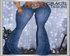 Western Belted Jeans