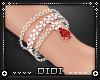 !D! Ruby Bracelet Left