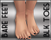 Real Feet Blk Toes