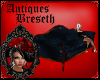 BS* Antique Blue Couch