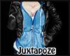 Blue Hoody + Jacket