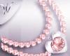 *W* Amie Heart Pearls
