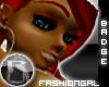 -R- FashionGal Badge