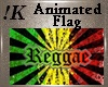 !K! Animated Flag Reggae