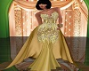 Galla trai gown/gold