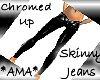 *AMA* Chromed Up Jeans