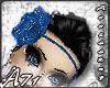 A- Blue Flower Band_H