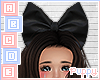 . Big Black Head Bow