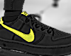 Air Force Black Neon