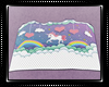 Unicorn Quilted Blanket