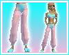 Aqua/Pnk Genie Pants