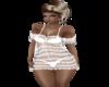 White  Lace Babydoll