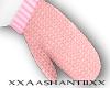 [Ash] Pink Mittens