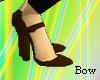 [B] Brown heel