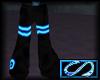 [S] Rave Pants Blue
