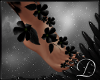 .:D:.Black Flowers Feet