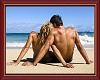 Cuadro Pareja en Playa