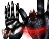 Chrome squishy hand