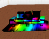 Rave Strip Couch