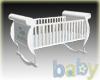 Baby Boy Trains Cradle