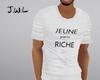 JR shirt white