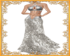Silver Empress Gown