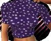 Purple Dots Mini Sweater
