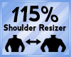 Shoulder Scaler 115%