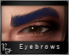 Sultry Brows-Navy Blue