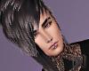 COAL Black Hair Skrillex
