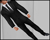 Male Black Elegante Suit