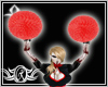 Evil Cheer Pompoms anima