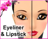 RC Makeup Eye n Lip Red