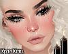 2Tone Blush/Freckle Head