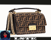 Brown Leather Fendi Bag
