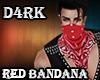 D4rk Red Bandana