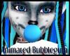 Animated Blue Bubblegum