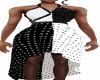 B W  Strap Halter Dress
