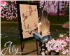 Blossom Art  Easel