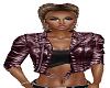Rose Leather Jacket
