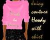 Juicy Hoodie+skirt