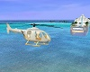 Wedding Yacht Helicopter