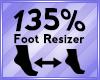 Foot Scaler 135%