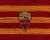 A.S. Roma Wooden Art
